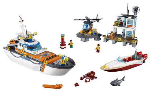 LEGO City Coast Guard 60167 Základna pobřežní hlídky