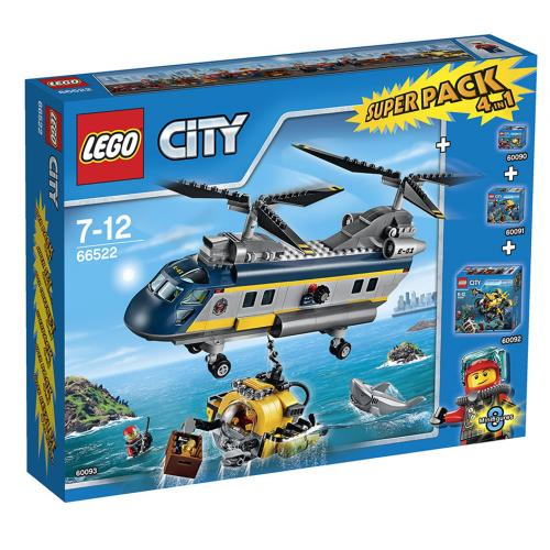 City Deep Sea Explorers Value Pack (includes 60090, 60091, 60092, 60093)