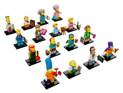 LEGO Minifigurky: Simpsonovi