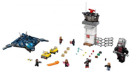 LEGO Super Heroes 76051 Confidential Captain America Movie 2