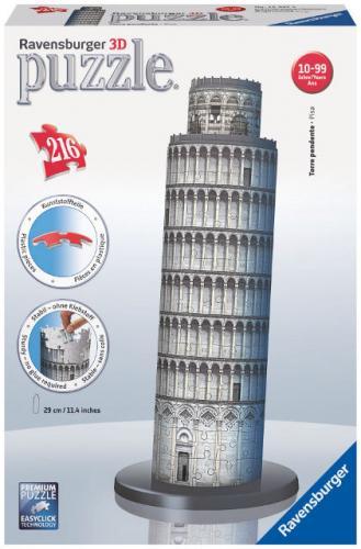 Ravensburger 3D Šikmá věž v Pise 216 dílků