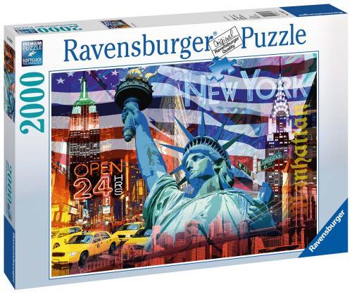 Ravensburger New York koláž 2000 dílků