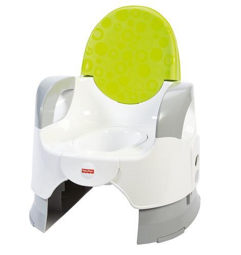 Fisher Price Baby Gear zelený nastavitelný nočník