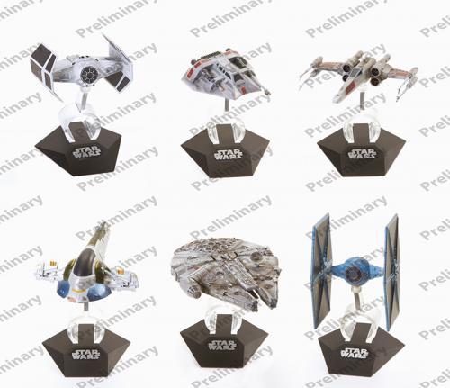 Hot Wheels Star Wars Kolekce Hvězdných lodí, více druhů