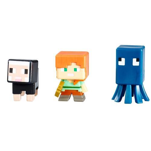 Minecraft 3ks minifigurka, více druhů
