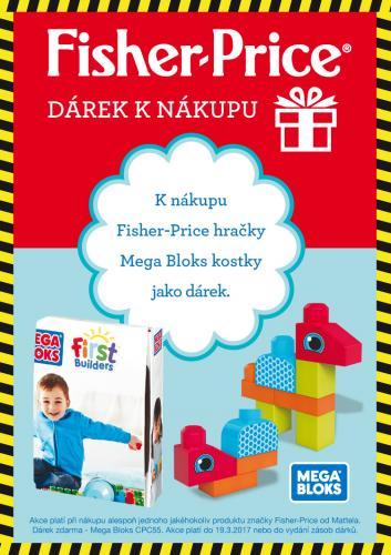 MEGA Bloks kostky - DÁREK k nákupu produktu Fisher Price
