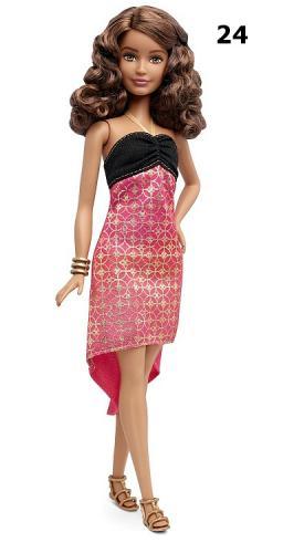 Barbie Modelka Fashionistas, více druhů