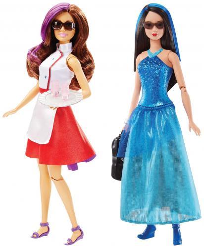 Barbie Tajný tým, více druhů