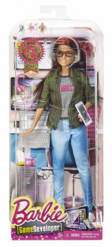 Mattel Barbie Coty - Herní vývojářka