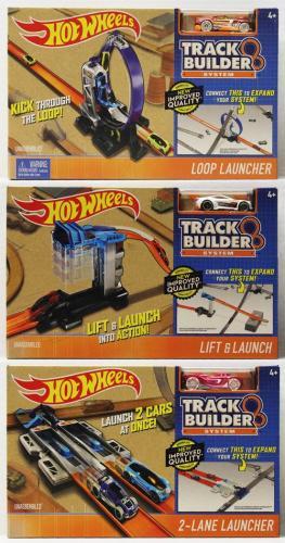 Hot Wheels TRACK BUILDER DOPLŇKY A DRÁHY, více druhů