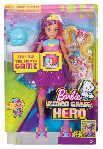Mattel Barbie ve světě her hrací kamarádka