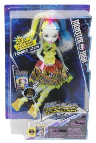 Mattel Monster High FRANKIE V MONSTRÓZNÍM NAPĚTÍ
