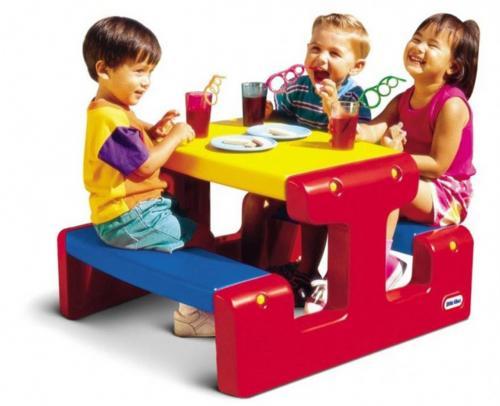 Piknikový stoleček Junior - Primary