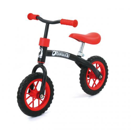 Hauck E-Z Rider 10 odrážedlo červeno-černé