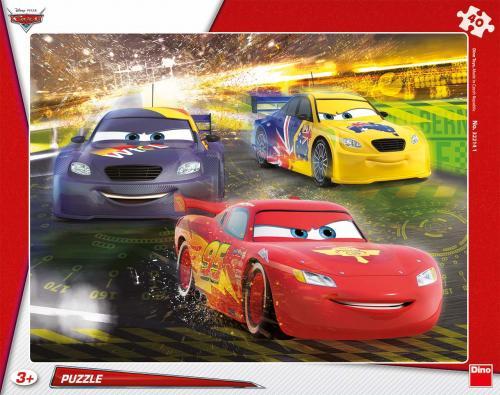 Dino puzzle Cars velké vítězství 40 dílků