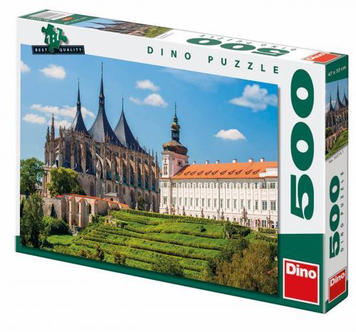 Dino puzzle Chrám sv. Barbory 500 dílků