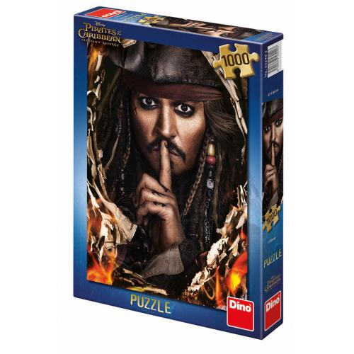 Dino puzzle Piráti z Karibiku 5: KAPITÁN JACK 1000 dílků