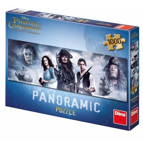 Dino puzzle Piráti z Karibiku 5: 1000 dílků panoramatické