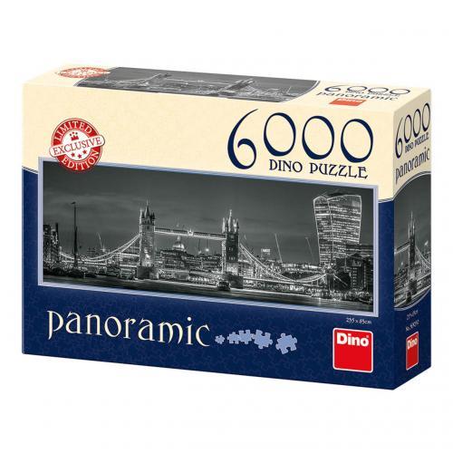 Dino Puzzle SVĚTLA LONDÝNA 6000 dílků
