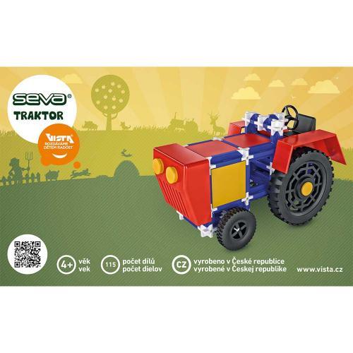 Stavebnice - Seva Traktor