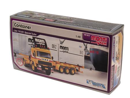 Liaz - Kamion Contejner