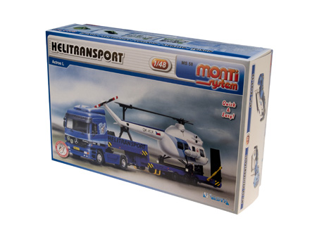 Mercedes Actros - Helitransport