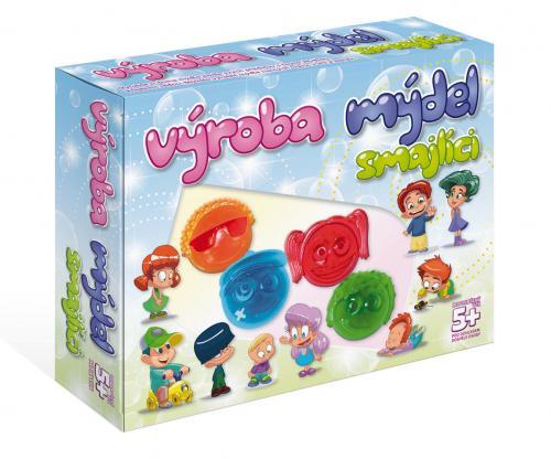 DetiArt Výroba mýdla - Smajlíci