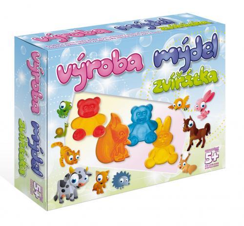 DetiArt Výroba mýdla - Zvířata