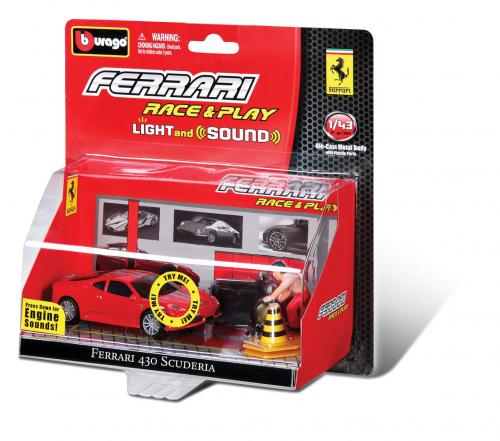 FERRARI RACING SOUNDS 1:43