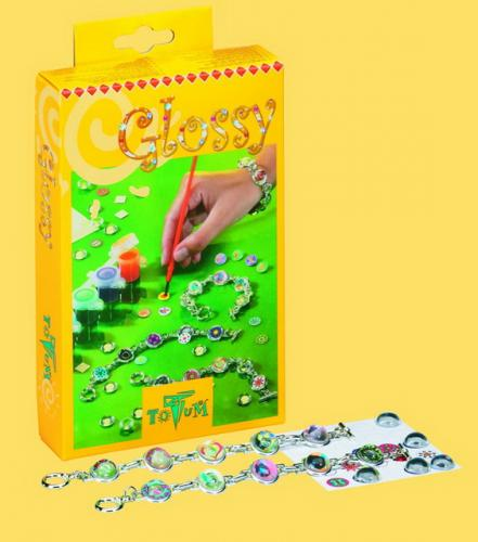 Totum GLOSSY - skleněné náramky