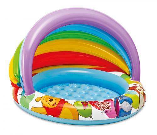 Intex Bazén s nafukovacím dnem a stříškou