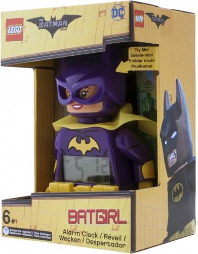 LEGO Batman Movie Batgirl - hodiny s budíkem