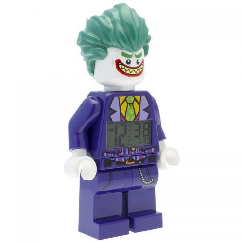 LEGO Batman Movie Joker - hodiny s budíkem