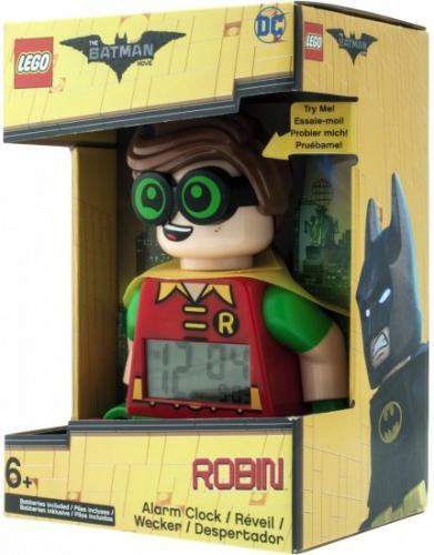 LEGO Batman Movie Robin - hodiny s budíkem