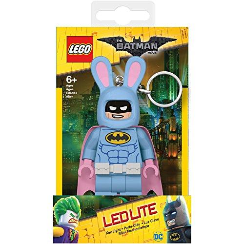 Přívěsek na klíče LEGO Batman Movie Bunny Batman svítící figurka
