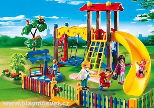 PLAYMOBIL Dětské hřiště