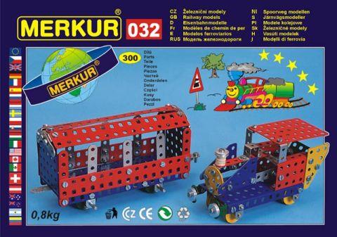 Stavebnice Merkur - Železniční modely