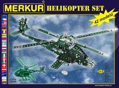 Stavebnice Merkur - Helicopter set