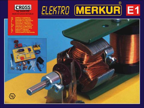 Stavebnice Merkur - Elektro E 1