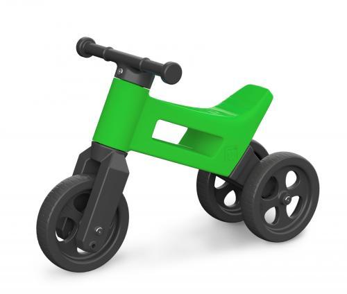 FUNNY WHEELS odrážedlo 2v1 - Sport Green