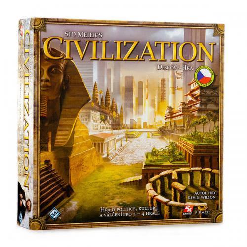 ADC Blackfire Civilizace desková hra