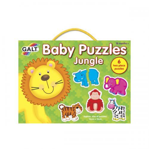 Puzzle pro nejmenší - zvířátka v džungli