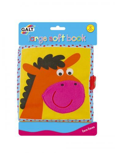 Galt Velká dětská knížka – hlavy zvířátek 2