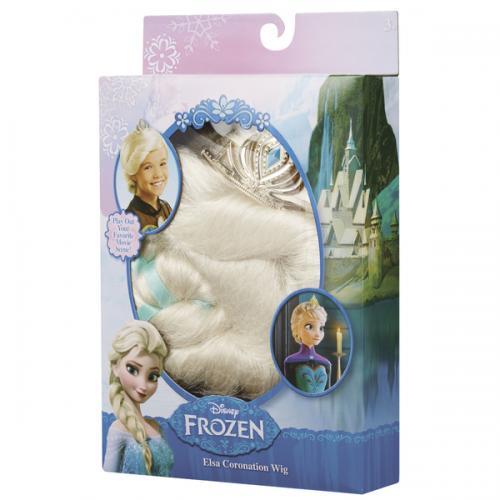 Frozen: korunovační paruka Elsa/Anna