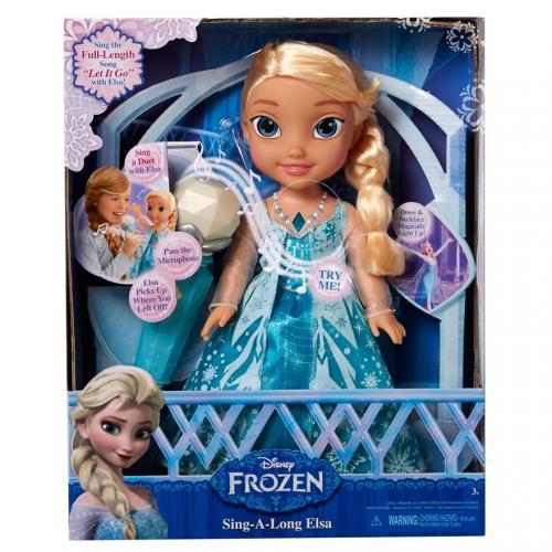 Zpívající Elsa karaoke