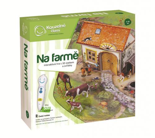 Kouzelné čtení Hra Farma 3D