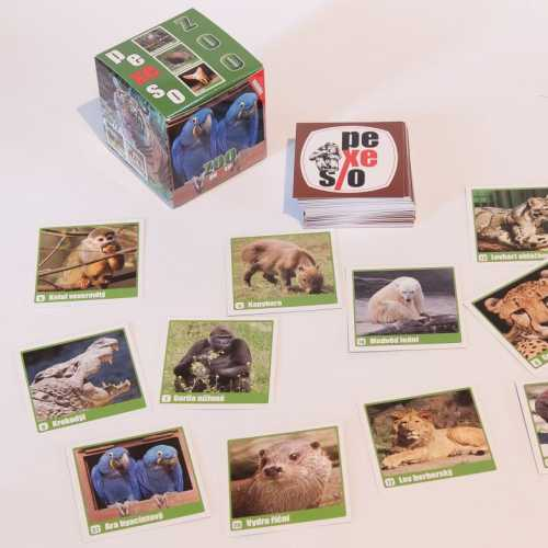 Pexeso box ZOO