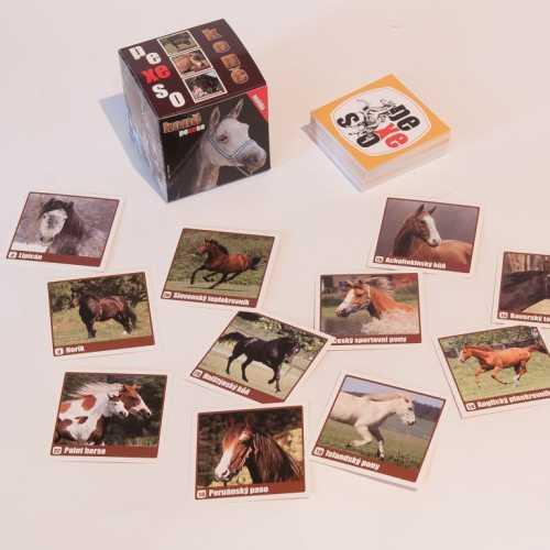 Pexeso box Koně