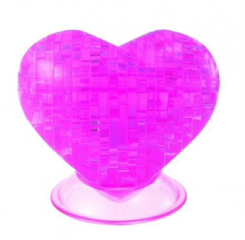 Srdce - 3D krystal puzzle