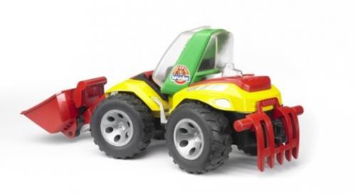 Traktor - čelní nakladač